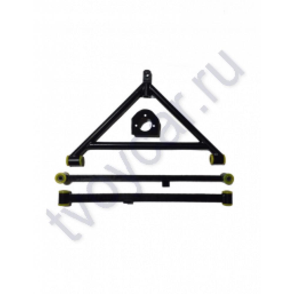 А-образный рычаг заднего моста ВАЗ 2101-07 на резиновых с/б с тягами