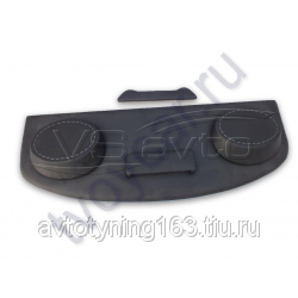 Полка ВАЗ 2110, 2170 (седан) (направленая, стоп-сигнал) Винилискожа